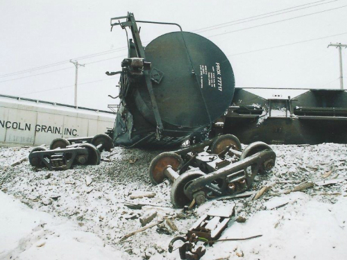 napier emergency consulting train derailment